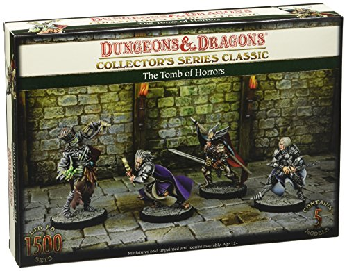 Gale Force Nine GF971011 - Brettspiele, Dungeons und Dragons, Tomb of Horrors Classic S1, 5 Figuren
