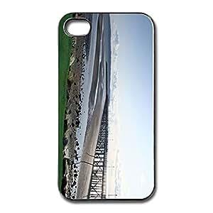 Fashion Pier White Rock British Fit Series Hard Plastic Apple Iphone 5 Case