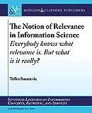 Relevance in Information Retrieval 9781598297683