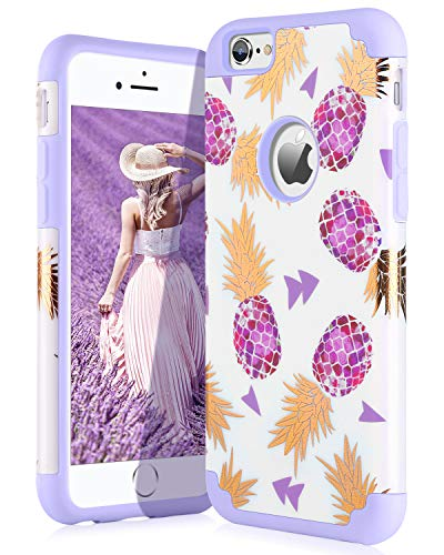 aa73f5aa9f58 BENTOBEN iPhone 6 6S Case,iPhone 6 6S Phone Case,Slim Hybrid Hard PC Cover  Soft ...