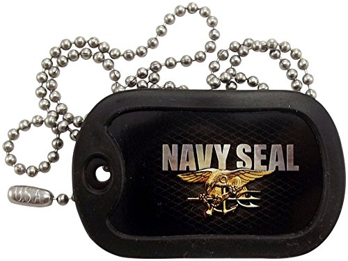 Military Dog Tags - U.S. Navy Seal Dog Tag Necklace - Tag-Z (Tag Navy Dog)