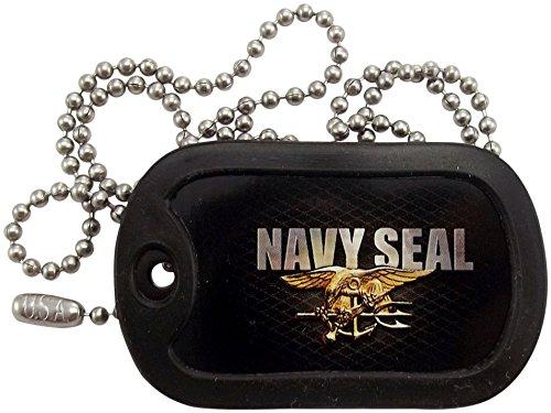 Military Dog Tags - U.S. Navy Seal Dog Tag Necklace - Tag-Z (Navy Dog Tag)