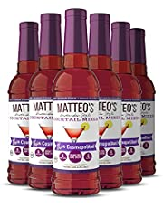 Matteo's Sugar Free Cocktail Mixes - Cosmopolitan - Delicious Cocktail Mixers