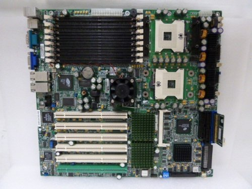 (SuperMicro X5DL8-GG-NS rev 1.10 Dual-Socket 604 Xeon Motherboard Server Board)