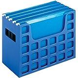 "2 x Pendaflex Decoflex Desktop File, 9 1/2"" H x 12 1/4"" W x 6"" D, Sapphire Blue (23011)"