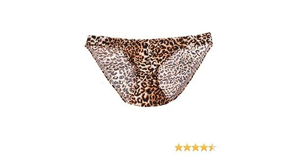 5c878cb3b275 Amazon.com: YiZYiF Sexy Men's Underwear Leopard Print Bikini Swimwear  Panties: Clothing