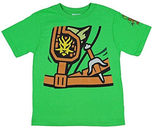 Lego Ninjago Lloyd Zukin Robe Boys Costume T-Shirt (Lloyd, 4) (Garmadon Costume)