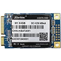 Zheino M1 msata 64GB Internal SSD Solid State Drive for Notebooks Tablets and Ultrabooks