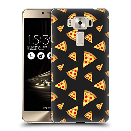 Official PLdesign Pizza Slices Pattern Food Hard Back Case for Zenfone 3 Deluxe 5.5 ()