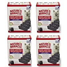 Natures Miracle Self Cleaning Litter Box Waste Receptacle, 72-Pack
