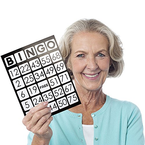 Royal Bingo Supplies EZ Readers Large-Format 8.5
