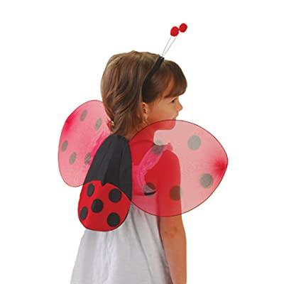 US Toy Lady Bug Wings & Antenna Costume Set: Toys & Games