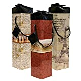 Endless Art US 3pc Medoc Wine Gift Box Set. Easy to Assemble and No Glue Required.