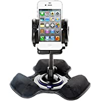 Unique Mounting System Includes Flexible Windshield and Bean Bag Dashboard Mounts to Keep Your Apple iPhone 5 Secure in any Car / Truck