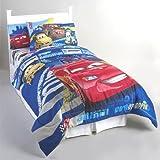 Disney Cars Track Burn Full-Double Bedding Comforter