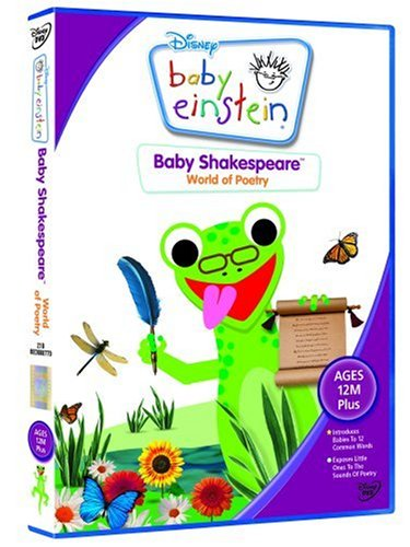 Baby Shakespeare - World of Poetry [DVD] (Baby Einstein Baby Shakespeare World Of Poetry)