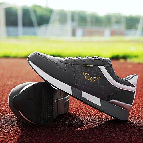 Zapatillas De Deporte Para Correr Al Aire Libre Para Hombre Zapatillas De Caminar Ligeras Zapatillas De Deporte Casuales 399 Gris