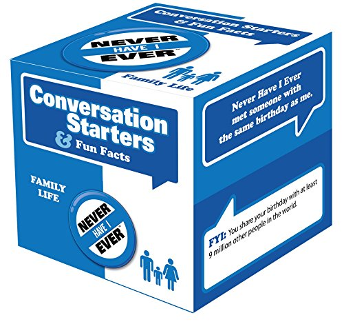 Best Ever Activities - Never Have I Ever Family Edition - Great Questions to Start Unforgettable Conversations