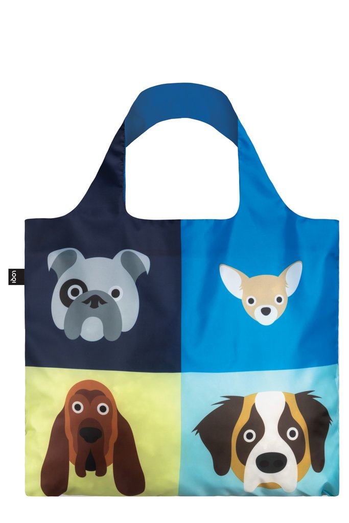 LOQI STEPHEN CHEETHAM Dogs Bag LOQI_SC.DO