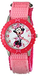 Disney Kids' W001918 Minnie Mouse Analog Display Analog Quartz Pink Watch