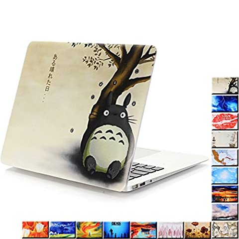 YMIX Plastic Cover Snap on Hard Protective Case for MacBook Air 11