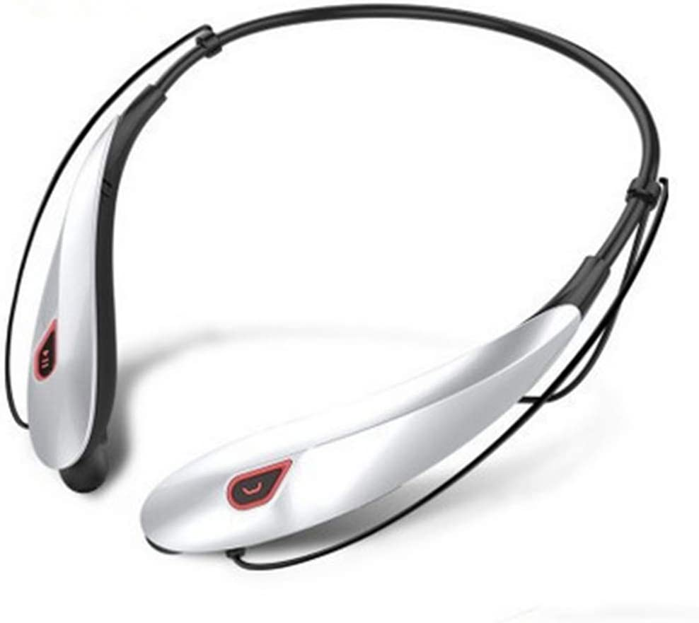 TY-UNLESS - Auriculares Bluetooth estéreo deportivos inalámbricos para teléfono móvil, granate, tamaño único
