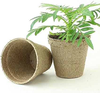 "90 Pots Plantation Jiffy-Pots 3/"" Peat Pots"