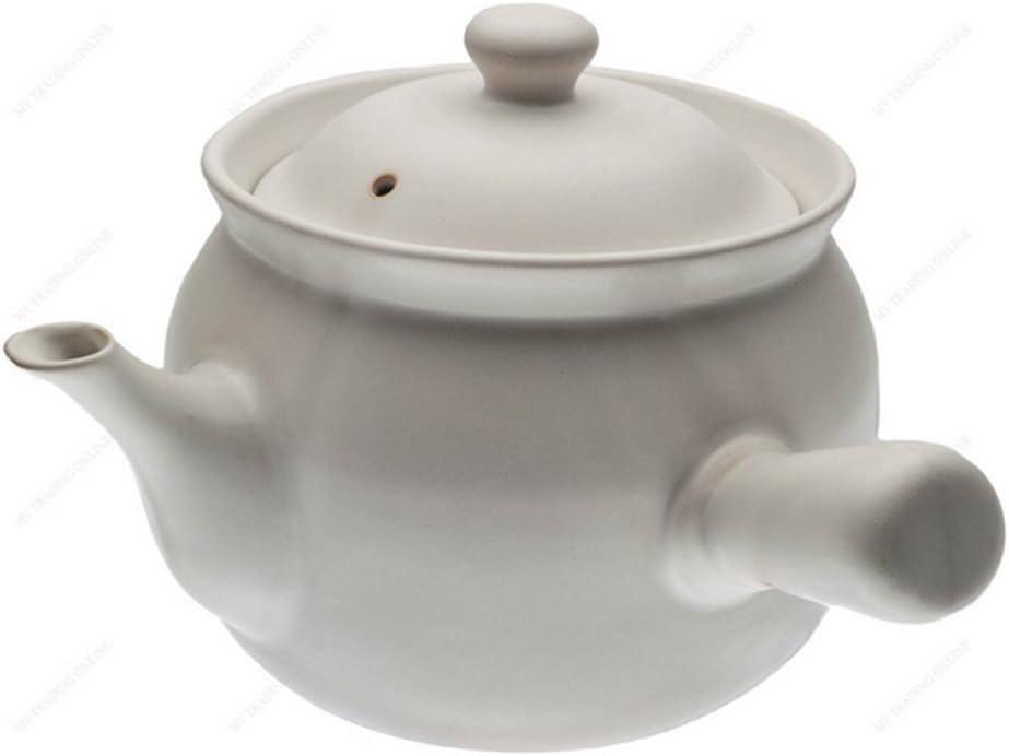 Health medicine pot Casserole Stew pot Pot with Chinese medicine white 1600ml