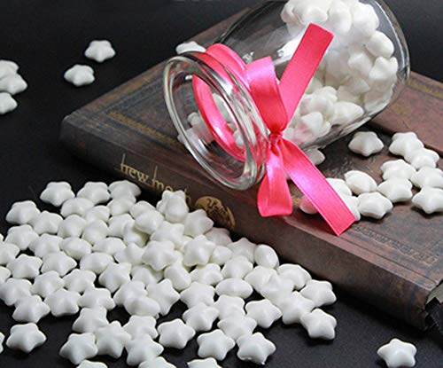 FQL 1 Bottle Of Star Shape Sealing Wax Sticks Beads For Wax Seal Stamp (White)