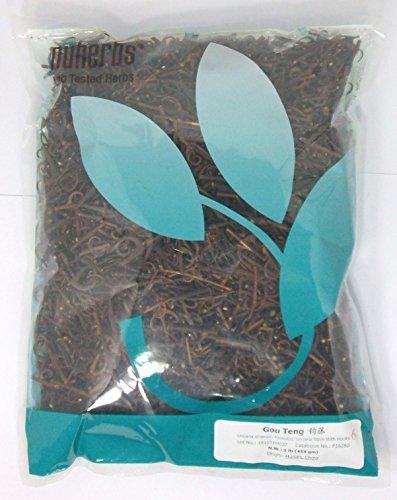 Uncaria Sinensis Stems with Hooks / Gou Teng / 1lb Bulk Herb