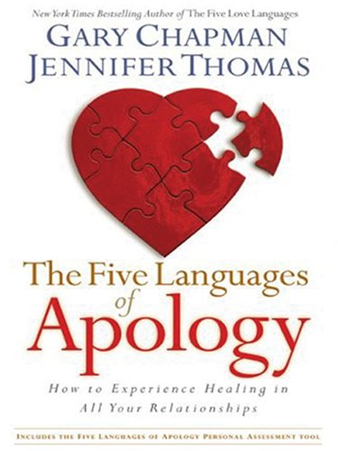 The Five Languages of Apology: How to Experience Healing in All Your Relationships (Walker Large Print Books) by Brand: Christian Large Print