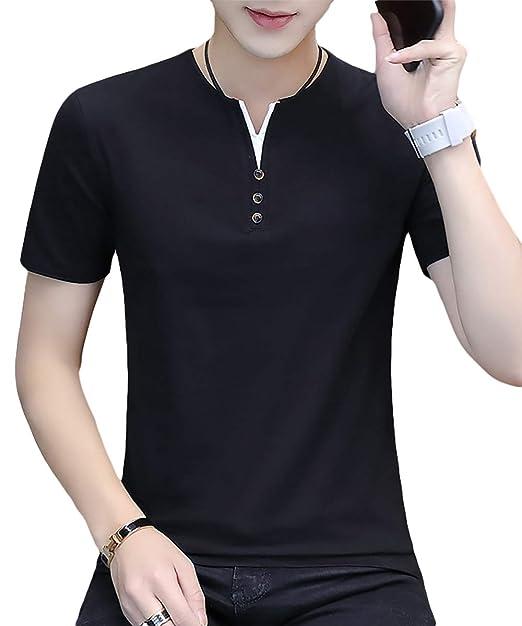 メンズ スタイル 選べる トップス シャツ お洒落 [meryueru(メリュエル)] ポロシャツ カジュアル 3タイプ 半袖 大人