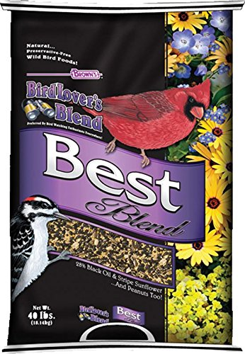 F.M. Brown's Bird Lovers Blend, 40-Pound, Best Blend by F.M. Brown's