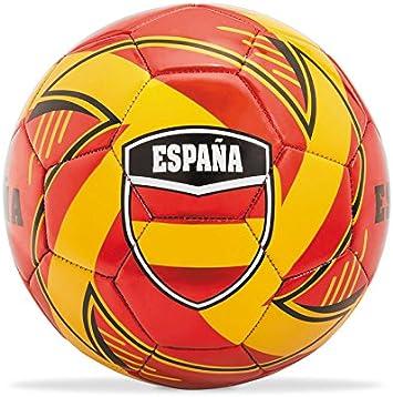 Seleccion Española de Futbol- Balón Cuero de 400 g en Caja Team España, 23 cm (Mondo 13409): Amazon.es: Juguetes y juegos