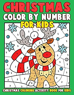 Color By Number For Kids Halloween Coloring Activity Book For Kids