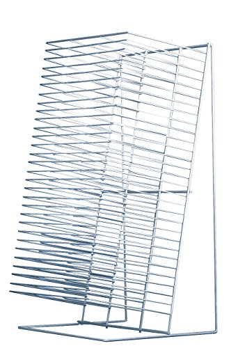 Sax Single-Slide Table Top Drying Rack, 30 Shelves, 8 x 12 I