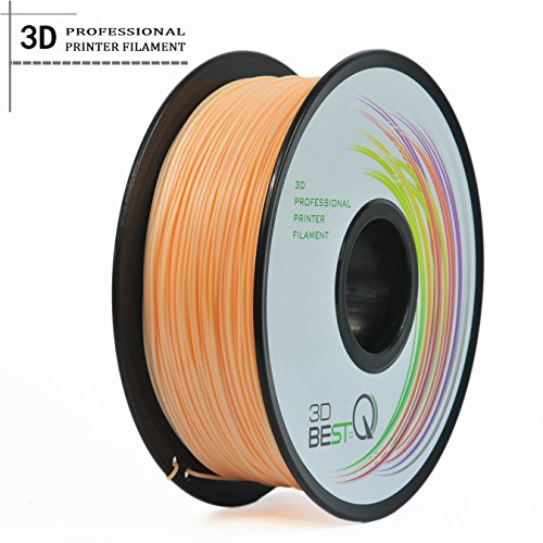 (3D BEST-Q Flexible TPU 1.75mm 3D Printer Filament, Dimensional Accuracy +/- 0.03 mm, 1KG Spool, 8 Color To Choose (skin))