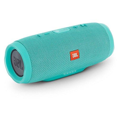 JBL JBLCHARGE3TEALAM Charge 3 Waterproof Portable Bluetooth Speaker (Teal)
