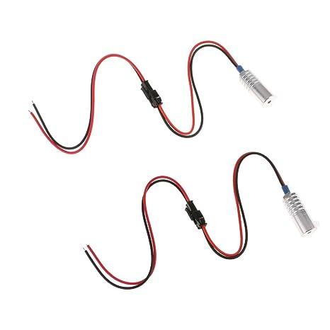 Homyl 2pcs Fibre Optique Source De Led Pour Eclairage
