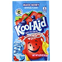 Kool-Aid Drink Mix, Unsweetened, Mixed Berry, 0.22 oz (Pack of 192)