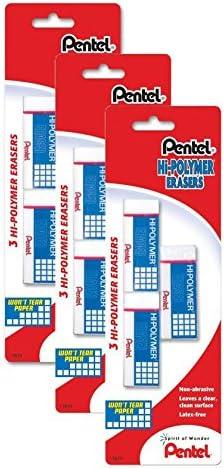 Pentel Hi Polymer Block Eraser Small