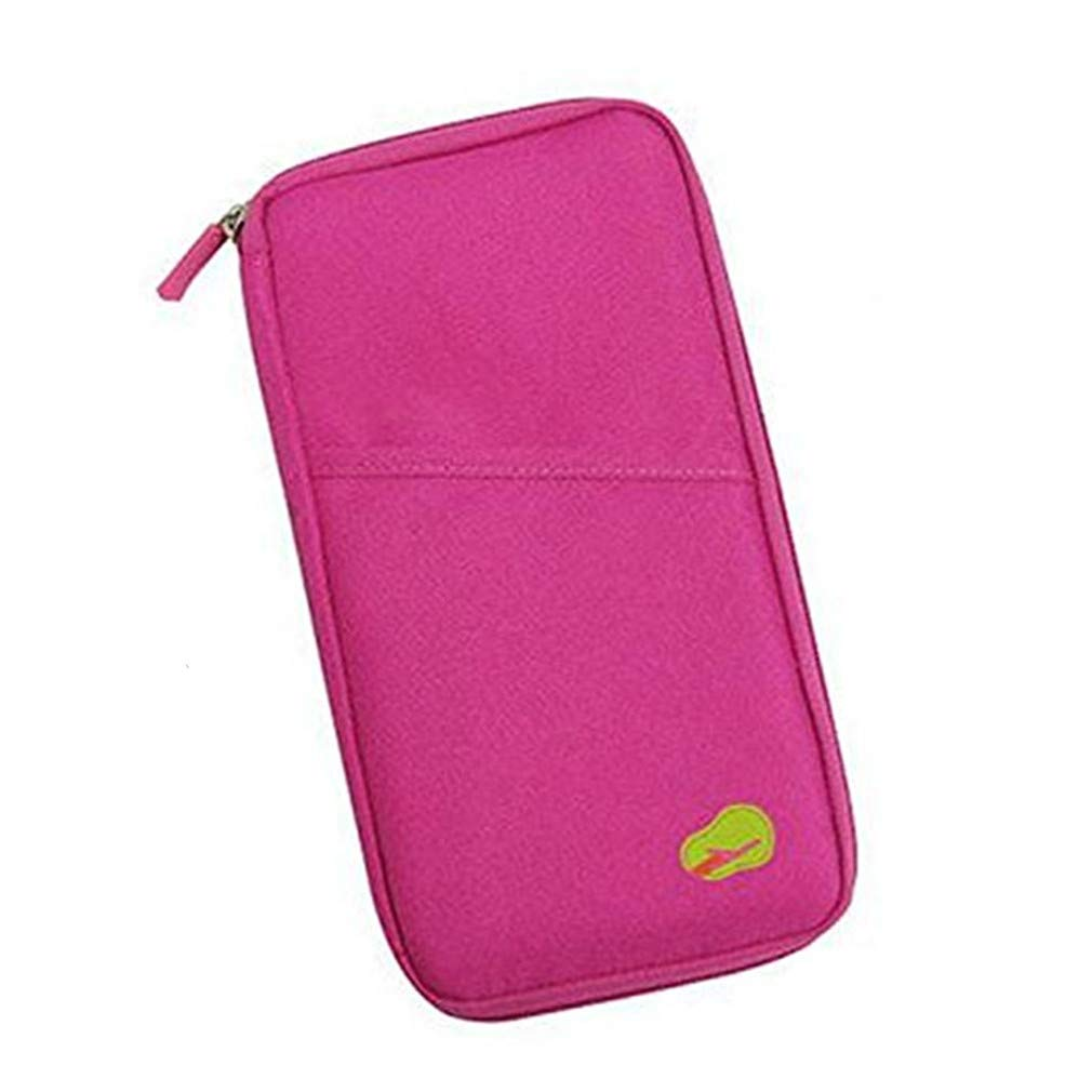 Rosa Faux Leather Passport Holder Unisex Mujer UK European Travel Passport Protector de TheBigThumb