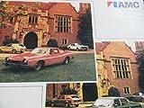 1974 AMC Matador / Gremlin / Hornet / Javelin / Ambassador Sales Brochure