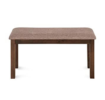 @Home by Nilkamal Alice 2 Seater Dining Bench (Melamine Finish, Antique Cherry)