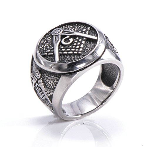 mens-316l-stainless-steel-masonic-ring-silver-comfort-fit-band-wedding-polished-unique-size-7