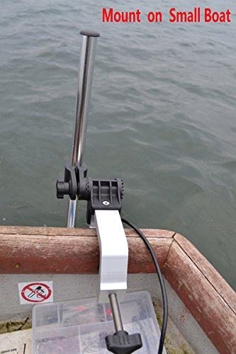 Brocraft universal portable transducer bracket for How to mount a fish