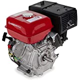 EBERTH 13 HP 9.56 kW Petrol Engine (25 mm Shaft, Low Oil Protection, Air-cooled Singel Cylinder 4-stroke Engine, Recoil Start)