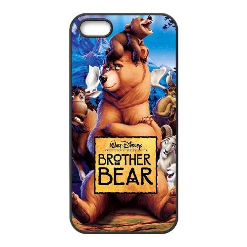 Frère des Ours OH81BM7 coque iPhone 5 5s étui de téléphone cellulaire coque Y9VK8V2QB