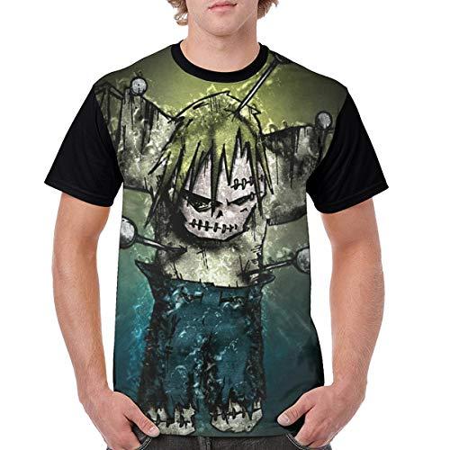 ByronJRivera Mans Korn Soft Printed Short Sleeve T-Shirt XXL