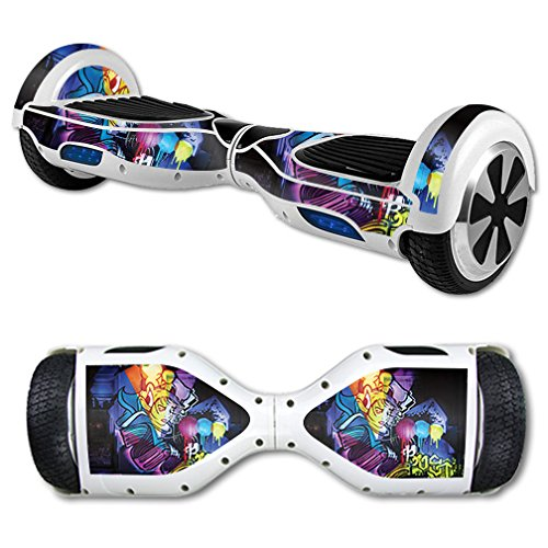 - MightySkins Skin for Self Balancing Mini Scooter Hover Board - Midnight Mischief | Protective, Durable, and Unique Vinyl Decal wrap Cover | Easy to Apply, Remove, and Change Styles | Made in The USA